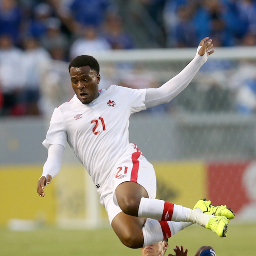 Watch Cyle Larin's incredible miss for Canada