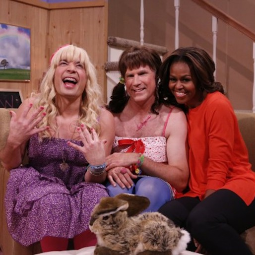 Michelle Obama Guest Stars in <i>Tonight Show</i> Sketch About Healthy Eating