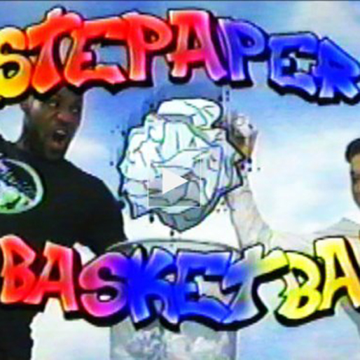 """Watch LeBron James, Jimmy Fallon in the Parody Video """"Wastepaper Basketball"""""""