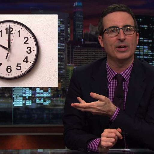 "John Oliver Prepares You for Tuesday's ""Leap Second"""