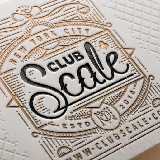 Show Your Depth: 50 Letterpress Business Cards