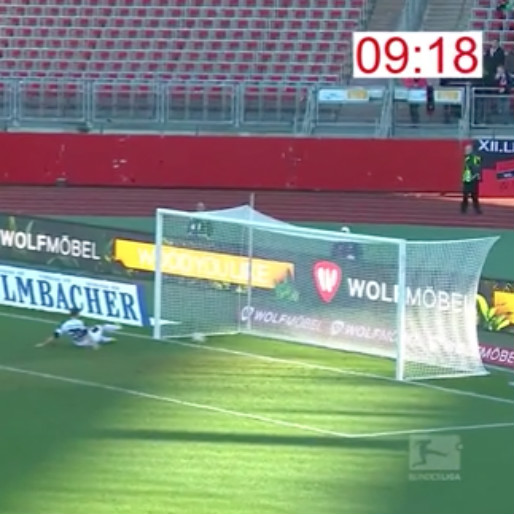 Watch FC Nurnberg Score with a Nine-Second Counter Attack