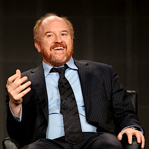 Louis C.K.'s TV Daughter Roasted Him For Father's Day