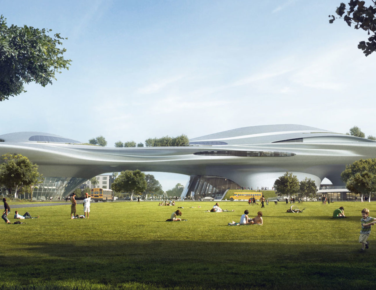 George Lucas Museum of Narrative Art to be Built in L A  :: Visual