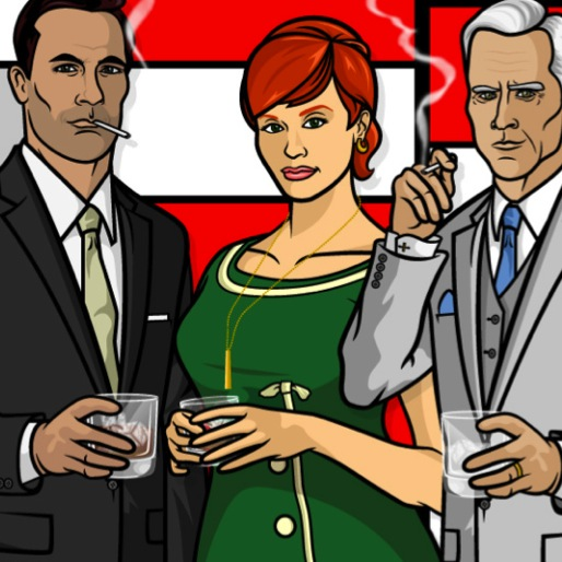 35 Hilarious <i>Mad Men</i>/<i>Archer</i> Mashup Memes