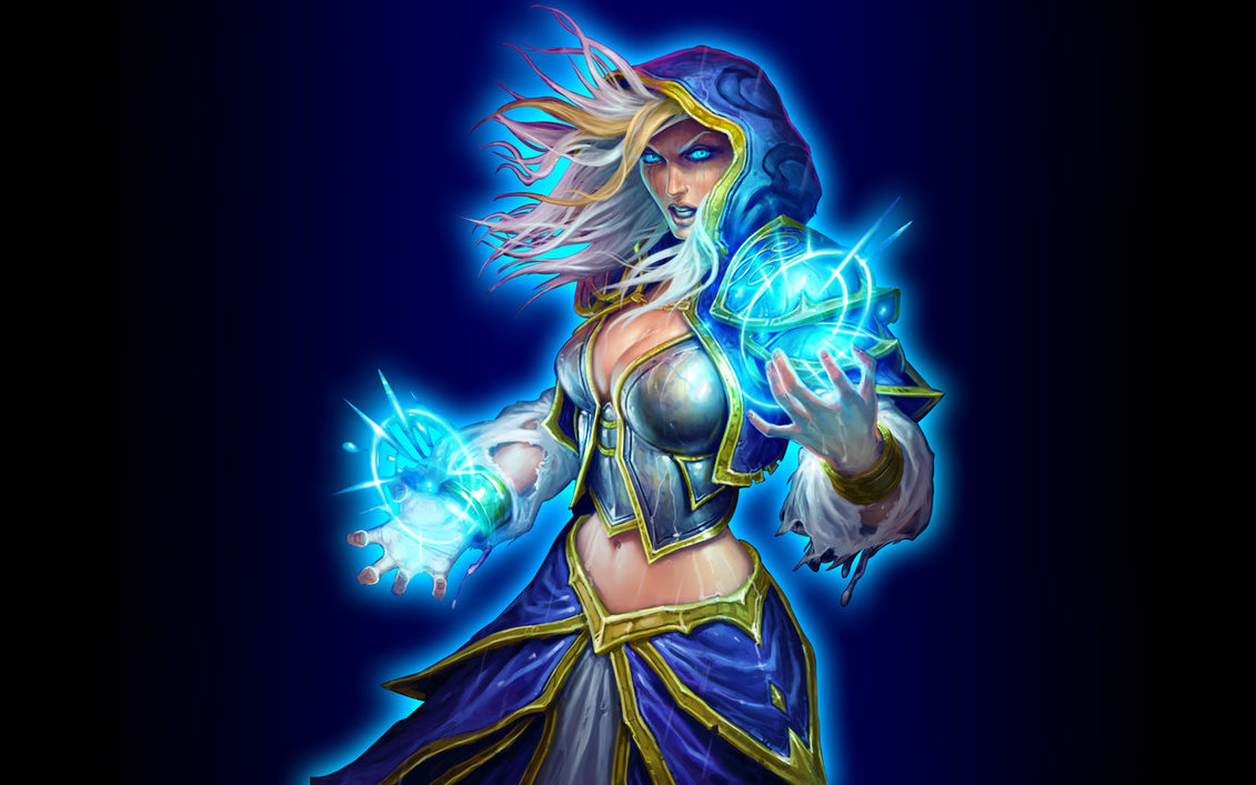 Hearthstone jaina nackt anime picture
