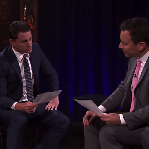 Channing Tatum and Jimmy Fallon Perform <i>Magic Mike</i>, as Envisioned by 8 and 6 Year Olds