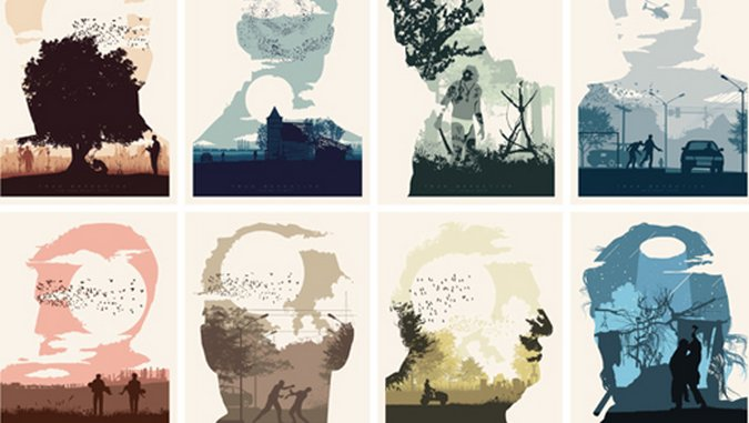 Illustrated Poster Series Features All Eight Episodes of <i>True Detective</i>