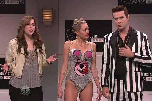 "<i>Saturday Night Live</i> Review: ""Miley Cyrus"" (Episode 39.02)"