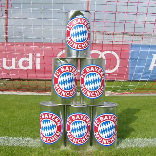 "Bayern Munich ""Hit the Cans"" Challenge"