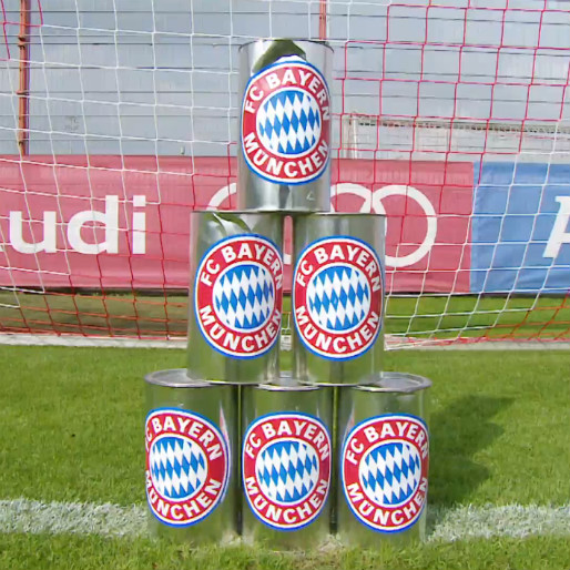 "Bayern Munich ""Hit the Cans"" Challenge"