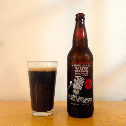 New Belgium Salted Belgian Chocolate Stout Review