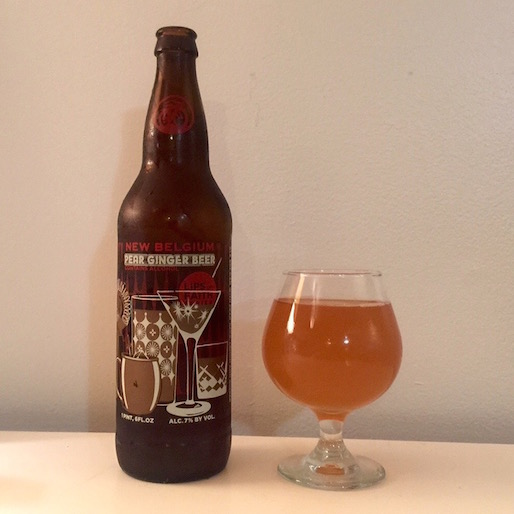 New Belgium Pear Ginger Beer Review