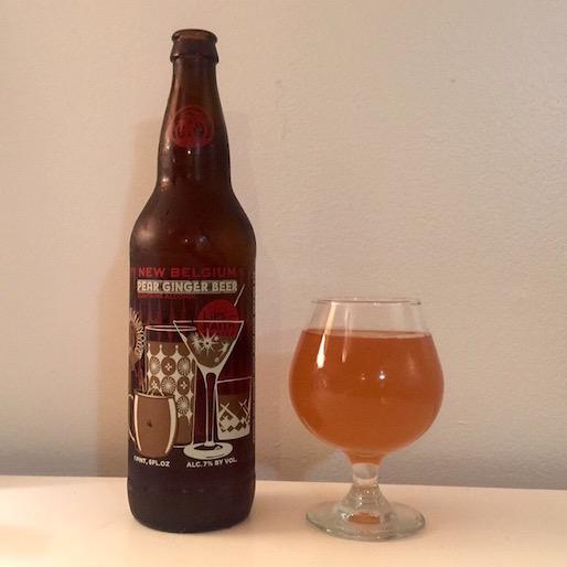 New Belgium Pear Ginger Beer Review