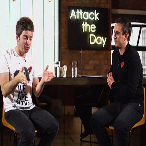 Watch Gary Neville and Noel Gallagher Talk about Manchester City