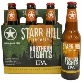 Starr Hill Northern Lights IPA Review -- New Recipe