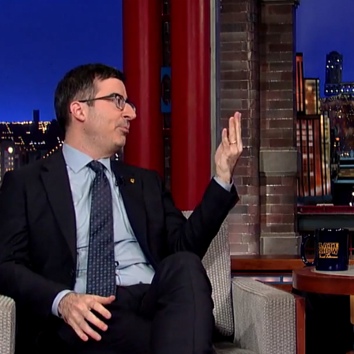John Oliver's Seven Best Observations About English Soccer