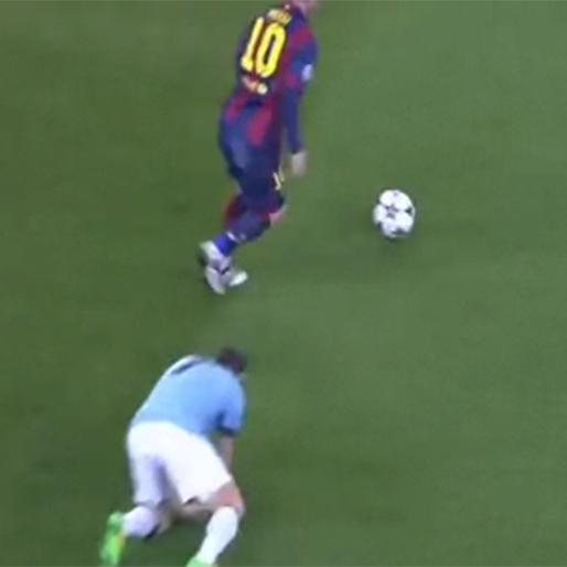 Lionel Messi Megs James Milner, Pep Guardiola Reacts Accordingly