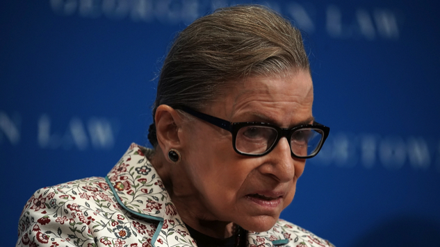 Supreme Court Justice Ginsburg Hospitalized After Falling Wednesday Night