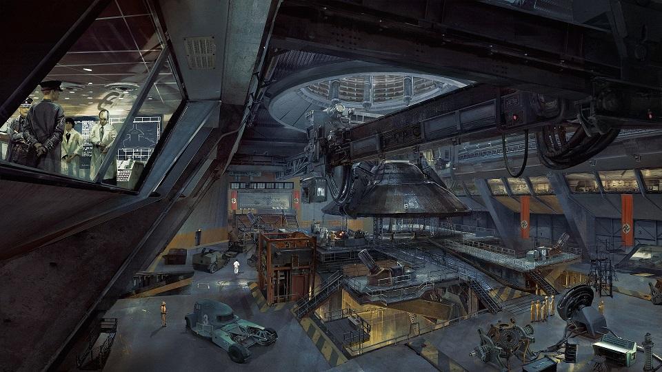 Concept Art Wolfenstein 2
