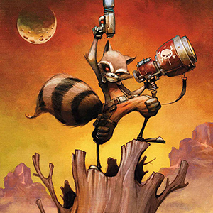 <i>Rocket Raccoon</i> #1 by Skottie Young Review