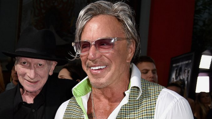 Mickey Rourke to Star in Horror Anthology Nightmare Cinema