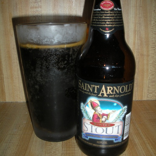 Saint Arnold Winter Stout Review