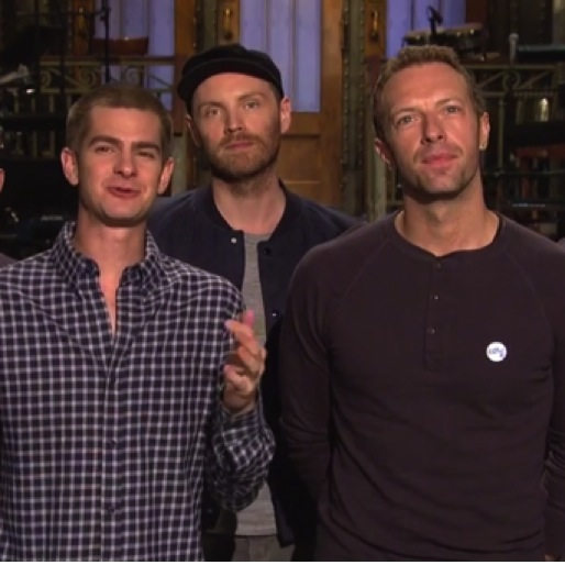 "<i>Saturday Night Live</i> Review: ""Andrew Garfield/Coldplay"""