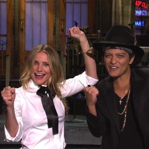 "<i>Saturday Night Live</i> Review: ""Cameron Diaz/Mark Ronson and Bruno Mars"""