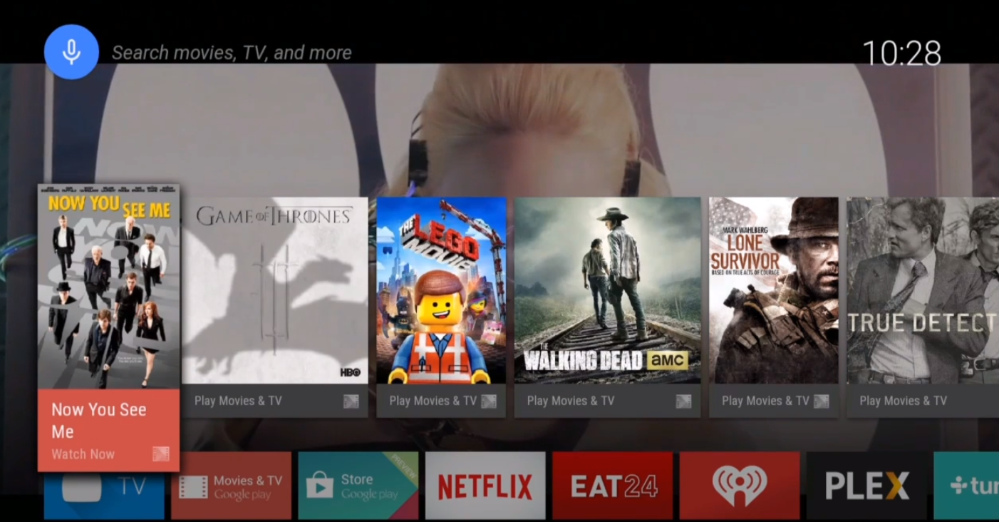Google Officially Announces Android TV at Google I/O ...
