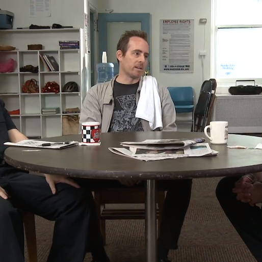 Exclusive: Ted Leo Stars in Thundershorts' <i>Teacher's Lounge</i>