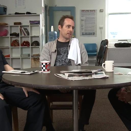 Exclusive: Ted Leo Stars in Thundershorts' <i>Teacher's Lounge</i>