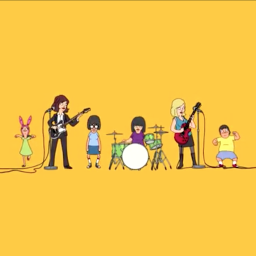 "Sleater-Kinney And <i>Bob's Burgers</i> Cook Up New Music Video For ""A New Wave"""