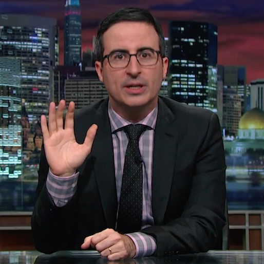 "Take The ""No-Prank Pledge"" With John Oliver and <i>Last Week Tonight</i> For April Fools' Day"