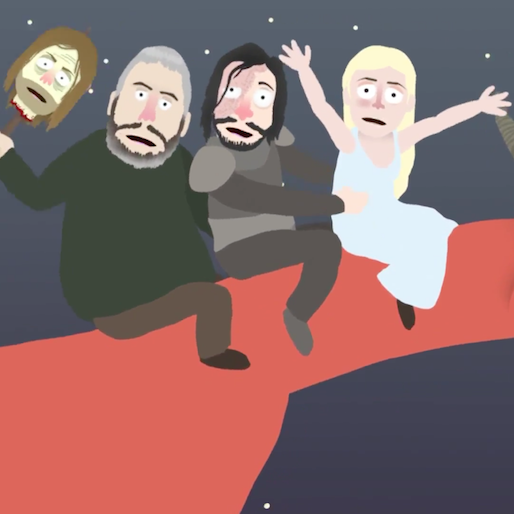 Watch <i>Conan</i> Turn <i>Game of Thrones</i> Into a Saturday Morning Kids' Cartoon