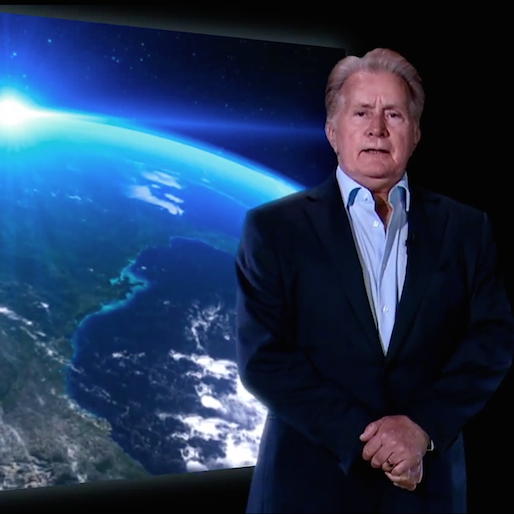 John Oliver Creates a Doomsday Video With Martin Sheen on <i>Last Week Tonight</i>
