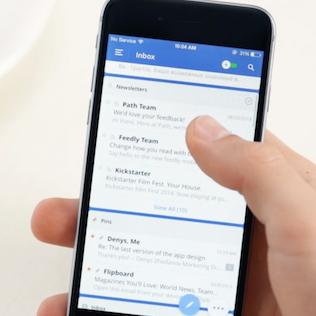 Spark App (iOS): Smart Email