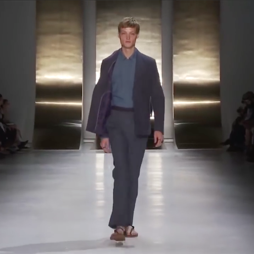 On the Go With SS16 Perry Ellis