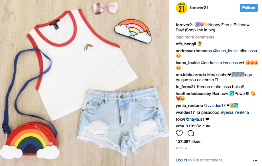 Forever 21 Accused of Blatantly Stealing Valfre Designs :: Design ...