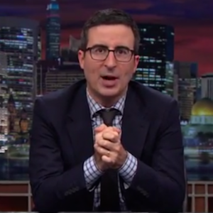 John Oliver Auditions For <i>Fifty Shades of Grey</i> on <i>Last Week Tonight</i> Complete With Handcuffs and Dirty Talk