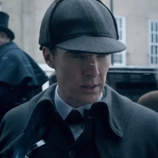 <i>Sherlock</i> Goes Victorian in Clip From Christmas Special