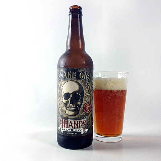 4 Hands Snake Oil Red IPA Review