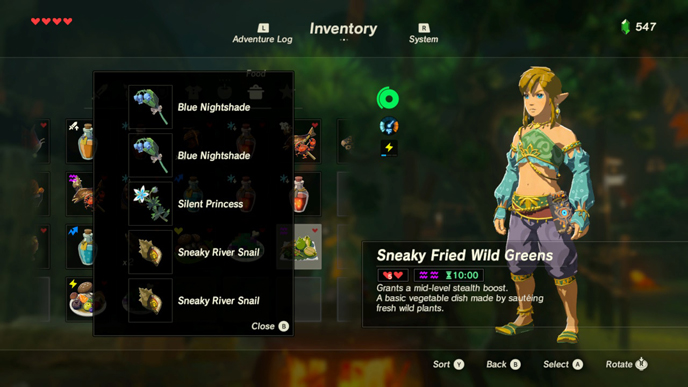 The 10 best recipes in zelda breath of the wild games lists sneakyg forumfinder Images