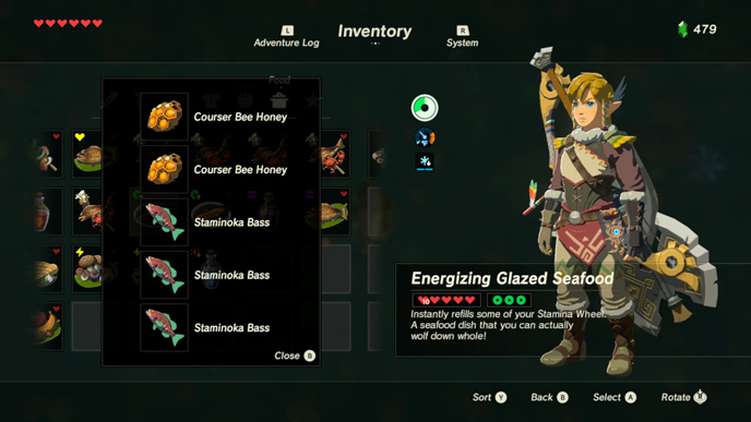 The 10 best recipes in zelda breath of the wild games lists stamina wheel 2g forumfinder Images