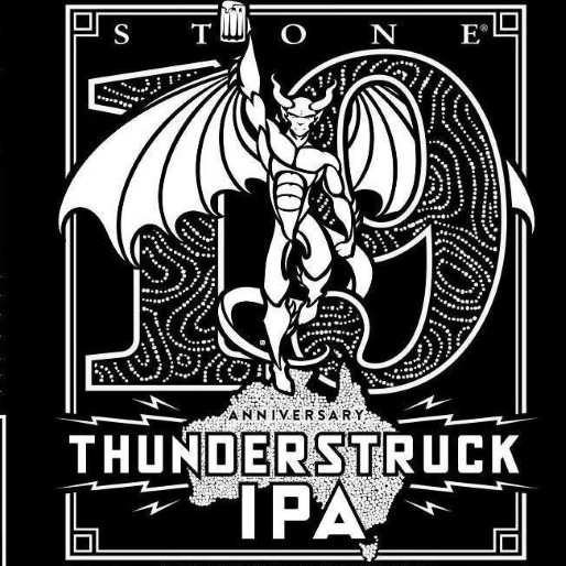 Stone Brewing Co. Thunderstruck 19th Anniversary DIPA Review