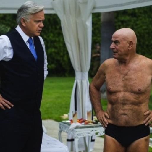 "<i>The Brink</i> Review: ""Swim, Schumley, Swim!"""