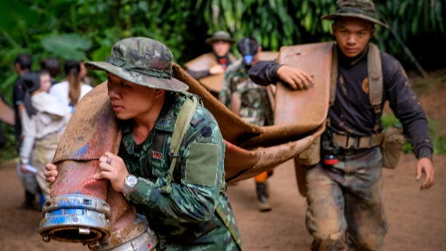 Ballantine Books Acquires Rights to Into the Dark, Firsthand Account Of Last Summer's Thai Cave Rescue