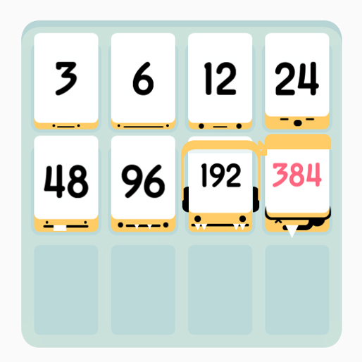 Threes, 1024, and 2048: Creative Competition in a Cluttered Market