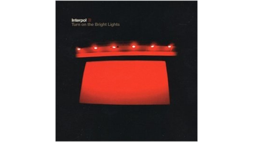 Interpol Announces Deluxe Edition of <i>Turn on the Bright Lights</i> for 10th Anniversary