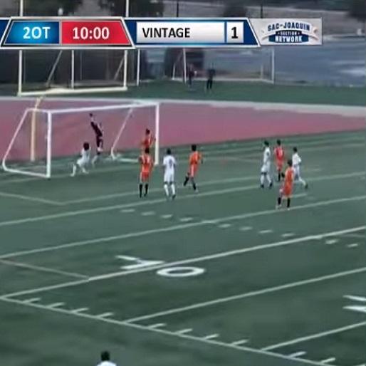 Amazing 55-Yard Free-Kick Goal Wins High School Championship